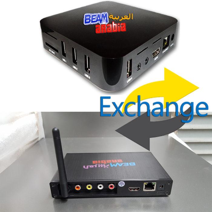 arabic iptv box exchange swap over new model australia melbourne